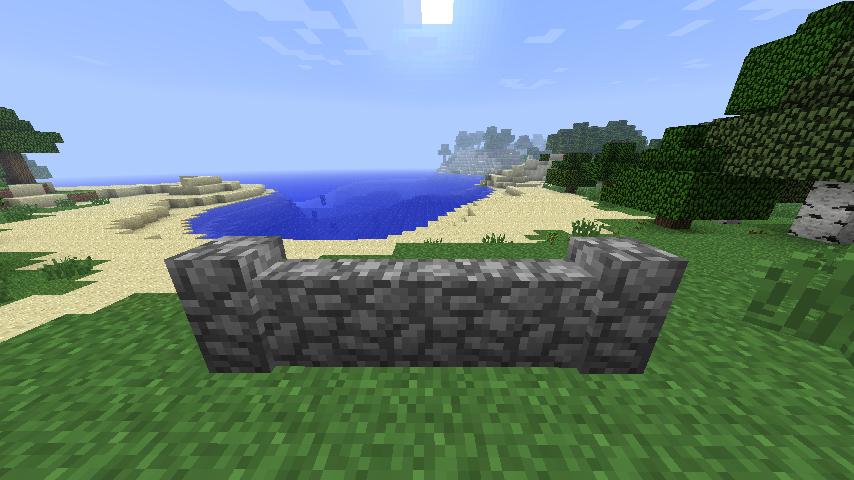 забор каменный майнкрафт minecraft крафт как крафтить