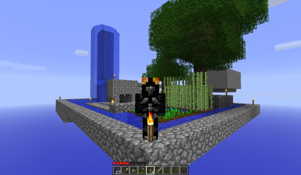Скачать карту для minecraft 1.7.2 загадочная башня - 9