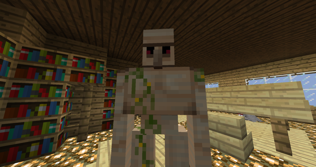 Железный голем в Minecraft