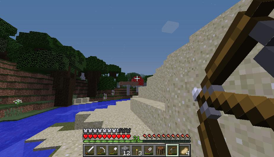 Minecraft, грибной биом