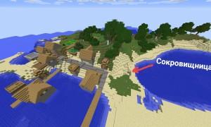 5 сидов с деревней на Minecraft 1.11